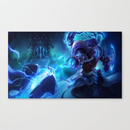 Championship Thresh League Of Legends Canvas Print