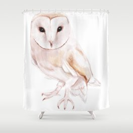 I dont give a Hoot Shower Curtain