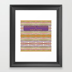 Folkdancers' Association of Nova Scotia Framed Art Print