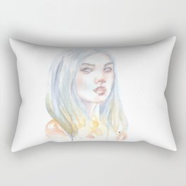 Fading Away Rectangular Pillow