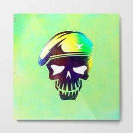 skull(soldier) Metal Print