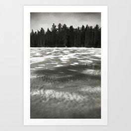 The Beaver Pond - Algonquin Park Art Print
