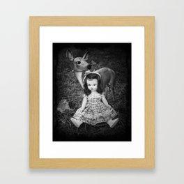 Deer and Nancy Ann Framed Art Print