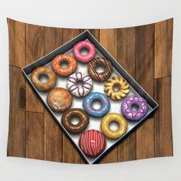 Box of Doughnuts Wall Tapestry