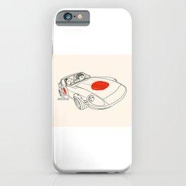 Crazy Car Art 0160 iPhone Case