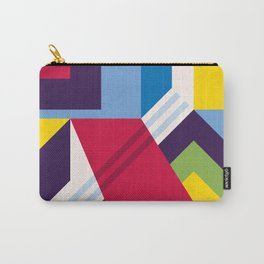 Abstract modern geometric background. Composition 13 Carry-All Pouch