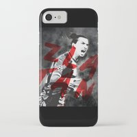 zlatan iPhone & iPod Cases featuring Zlatan by DL Design