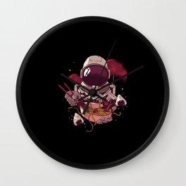 Ramen Astronaut Ramen Bowl Asia Noodles Wall Clock