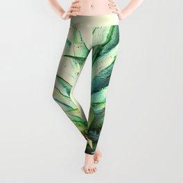 Green Pineapple Leggings
