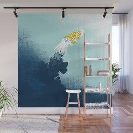 Intelligent Inker - Cranky Cuttlefish Wall Mural