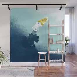 Intelligent Inker - Cranky Cuttlefish Wall Mural