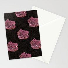 Amethyst Pattern Stationery Cards