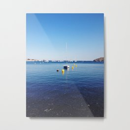 Boat stillness Metal Print