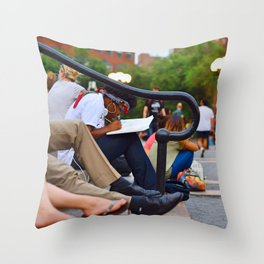 Stairway to Dreams Throw Pillow