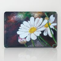daisies iPad Cases featuring Daisies  by ANoelleJay