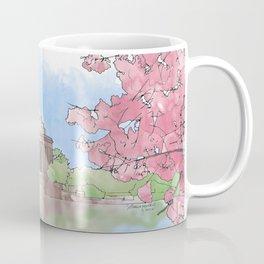 Cherry Blossom - Jefferson Memorial Coffee Mug