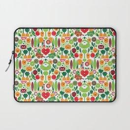 Vegetables tile pattern Laptop Sleeve