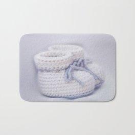 handmade slippers for newborn Bath Mat