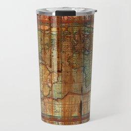 Antique World Travel Mug