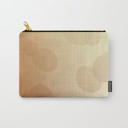 SIMPLE DOTS BLUE ON WHITE Carry-All Pouch