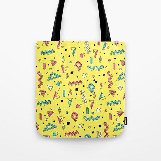 Memphis Art Tote Bag