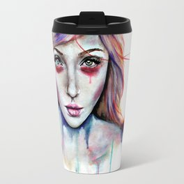 Seeing You Heterochromia Travel Mug