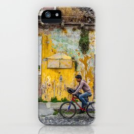 Antigua by bicycle iPhone Case