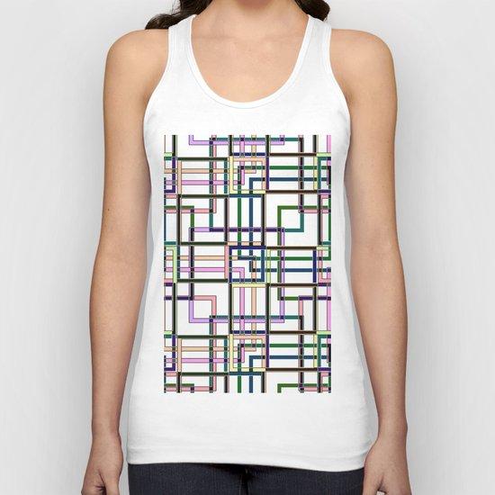 Abstract geometric pattern. Unisex Tank Top