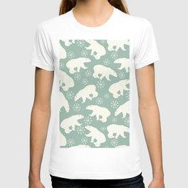 Merry Christmas - Polar bear - Animal pattern T-shirt