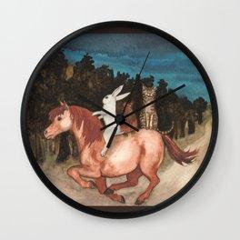 The Singing Cat Wall Clock