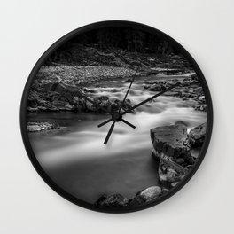 River line Wall Clock