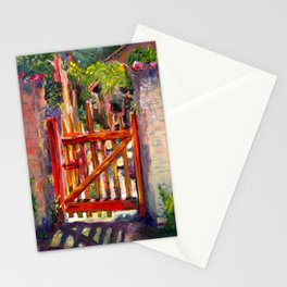 Red Gate Stationery Cards