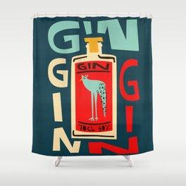 Gin Gin Gin Shower Curtain