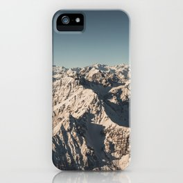 Lord Snow - Landscape Photography iPhone Case