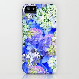 Billowing Blush in Blue iPhone Case
