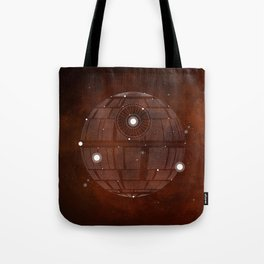 Constellation Death Star Tote Bag