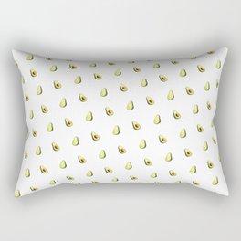 Avocado Print | White Rectangular Pillow