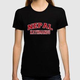 Kathmandu Nepal City Souvenir T-shirt