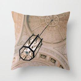 Detailed Ceiling Residenz Munich Throw Pillow