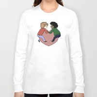 grantaire Long Sleeve T-shirts featuring Enjolras and Grantaire in love by Antisepticbandaid