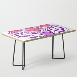 Pink Endangered Coffee Table