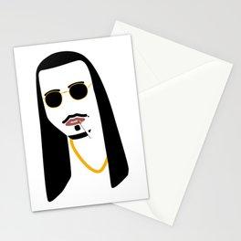 Gangster Jesus Classy Never Trash You Little Nasty Stationery Cards