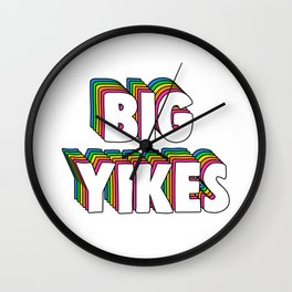 Big Yikes Meme Wall Clock