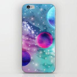 Vaporwave Pastel Space Mood iPhone Skin
