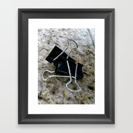 Varicose Attachments. Framed Art Print