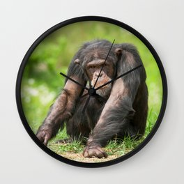 Chimpanzee Wall Clock