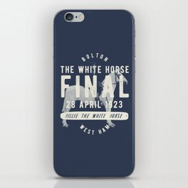 White Horse Cup Final 1923 iPhone Skin