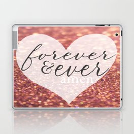 Forever And Ever Amen. Laptop & iPad Skin