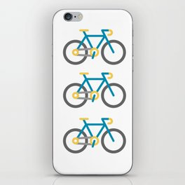 bicycles iPhone Skin