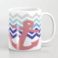 nautical Mugs featuring Nautical  by emain